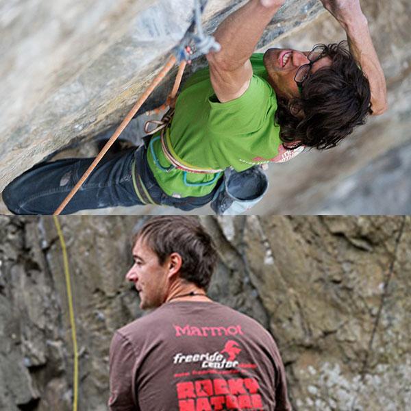 Kletterprofis unterrichten die Teilnehmer - Ötztaler Klettercamp
