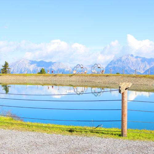 Speichersee im Widiversum - Hoch Ötz, Tirol