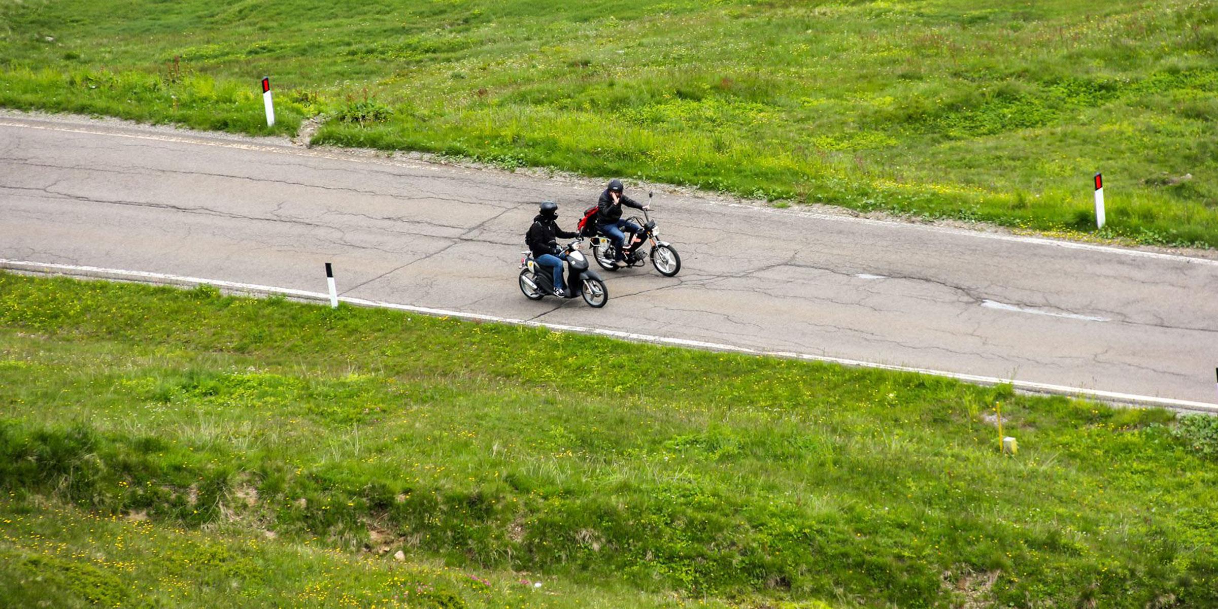 Wer langsam fährt, hat länger Spaß – Ötztaler Mopedmarathon