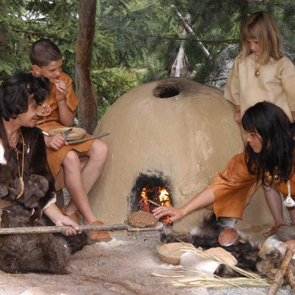Life in the Stone Age - Ötzi Village, Umhausen, Ötztal valley