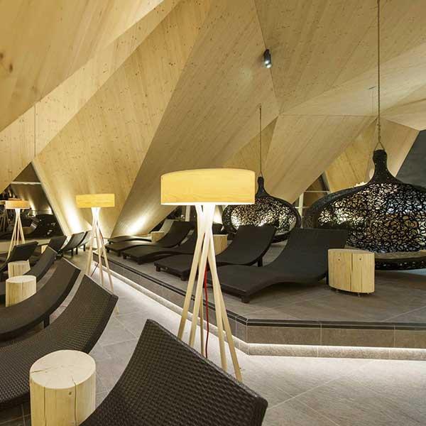 Liegen im SPA 3.000 Bereich Aqua Dome Tirol Therme Längenfeld - Ötztal, Tirol