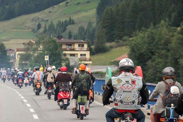Ötztaler Mopedmarathon Start