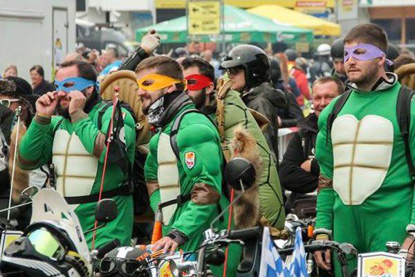 Turtles beim Ötztaler Mopedmarathon