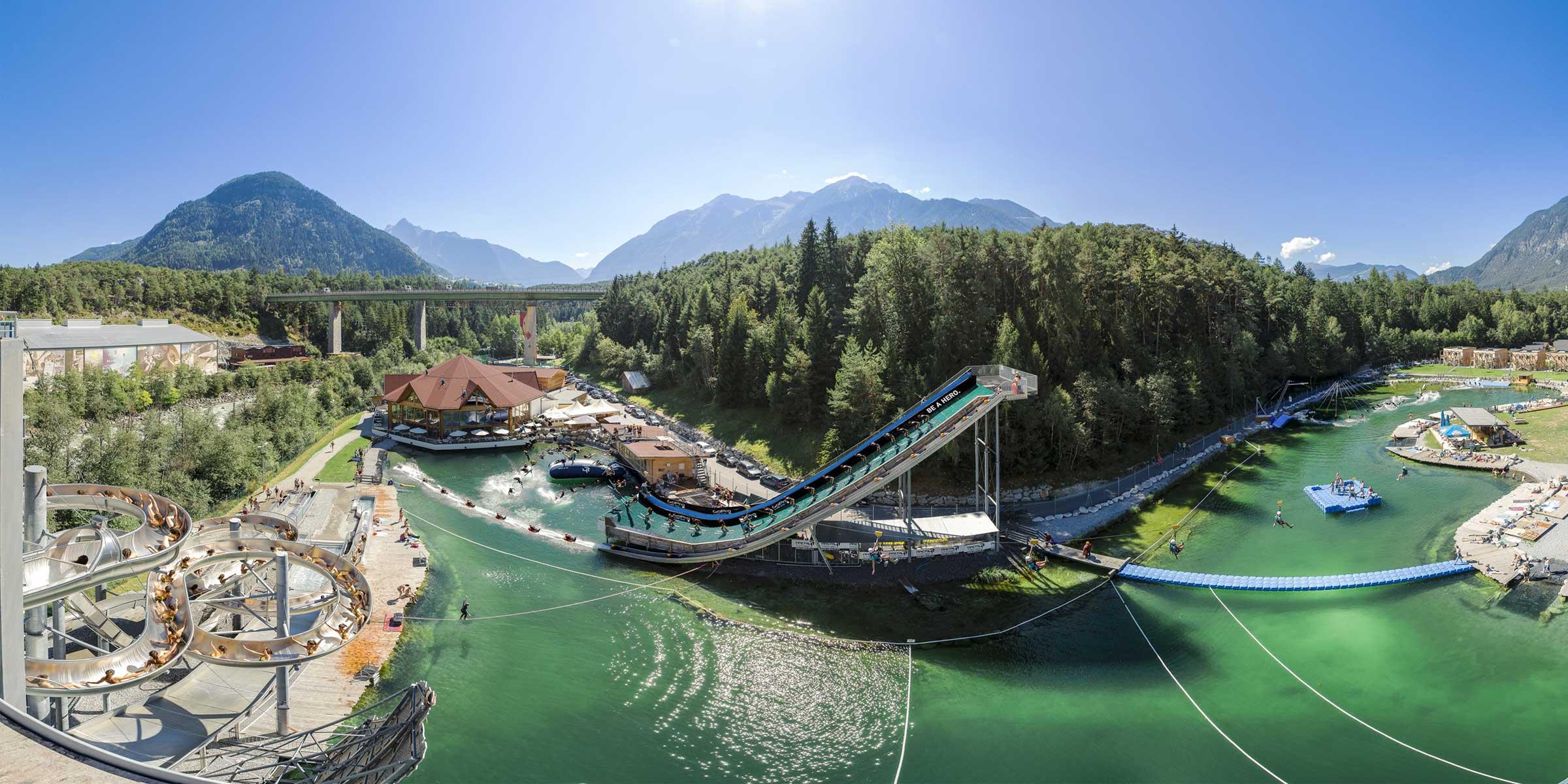Der Water-Area Bereich der AREA47 - Ötztal Premium Card, Ötztal, Tirol