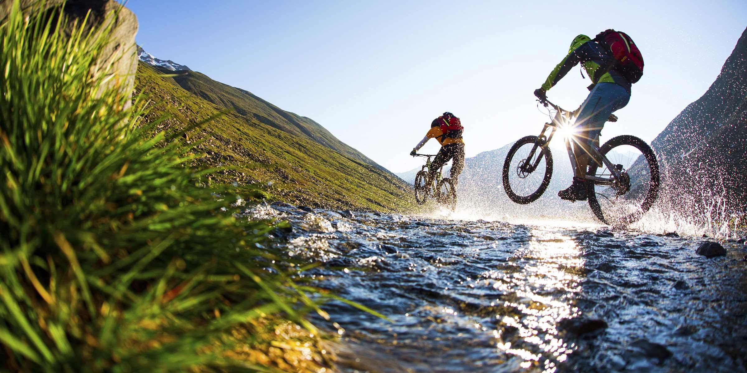 Mit dem Mountainbike über Stock und Stein - Ötztal Premium Card