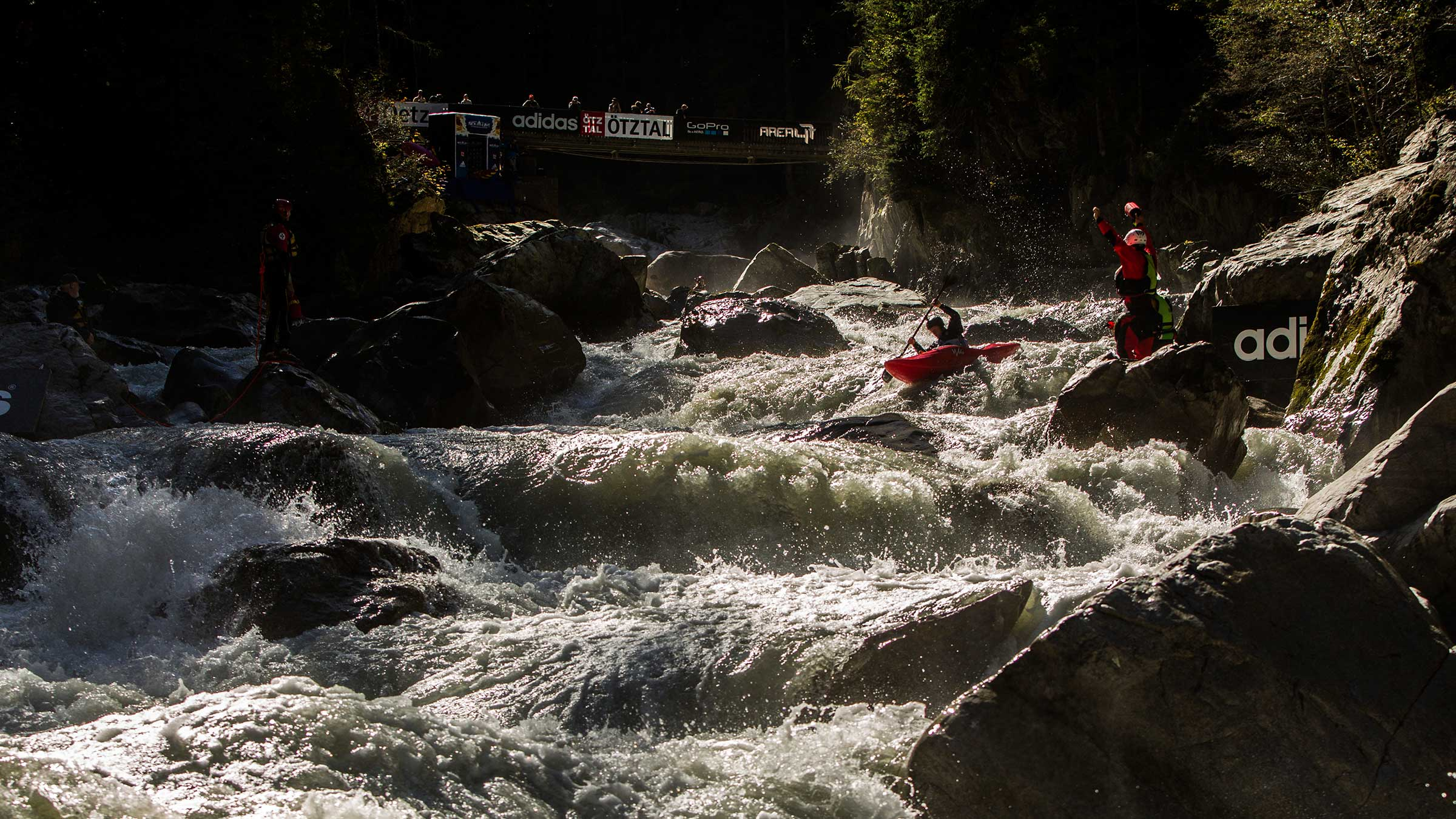 The World's Best Whitewater Kayakers descend on the Ötztal