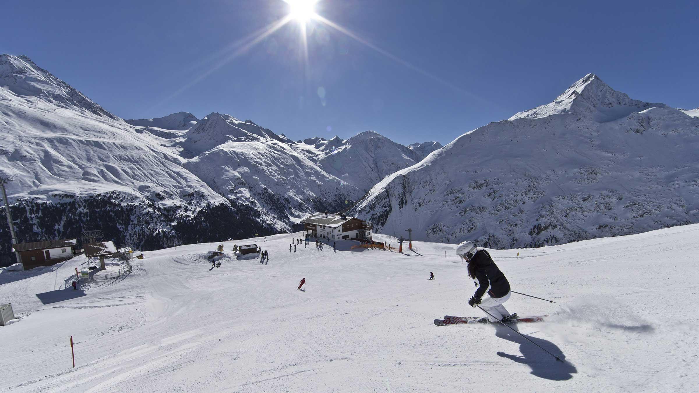 Skigebiet Vent - Die kleinen Skigebiete im Ötztal