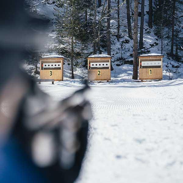 Biathlon in Niederthai - Niederthai Card, Ötztal, Tirol