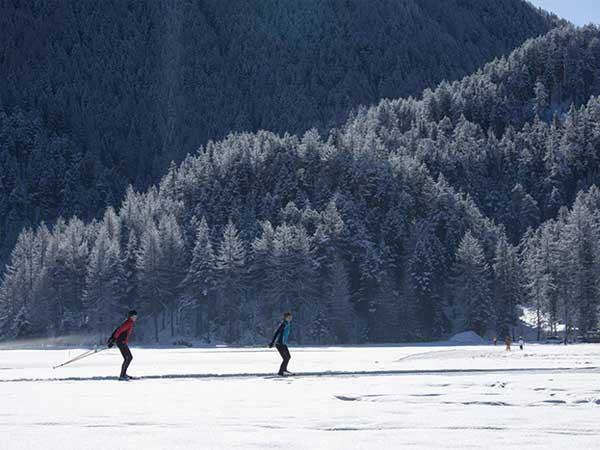 Langläufer in Niederthai - Langlaufen