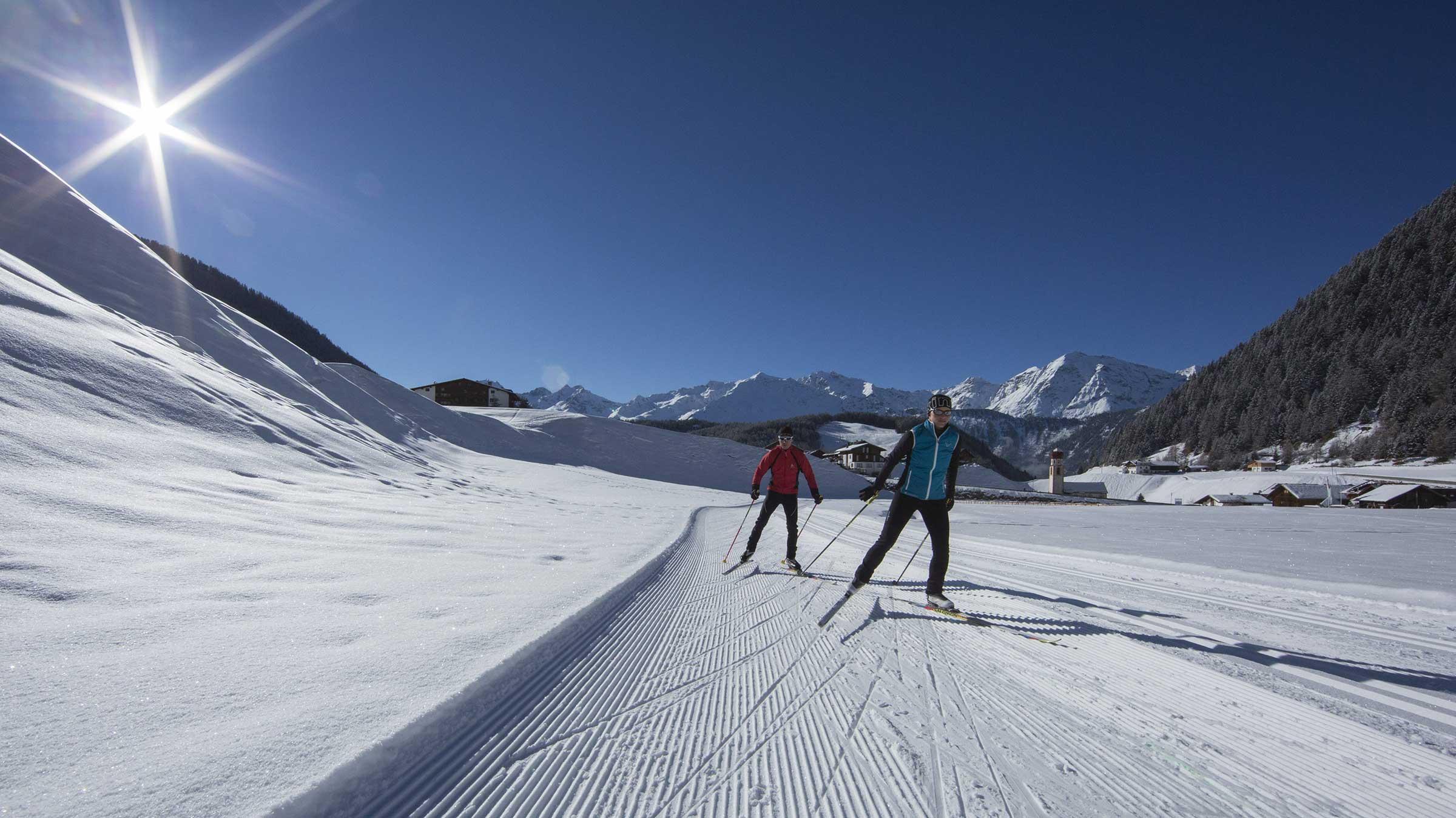 Langlaufen in Niederthai - Niederthai Card, Ötztal, Tirol