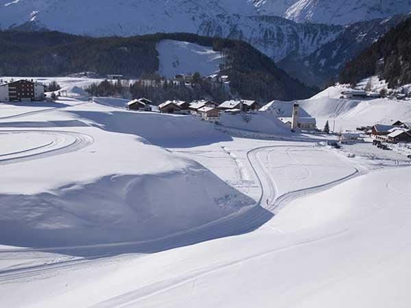 Niederthai im Winter - Die kleinen Skigebiete im Ötztal
