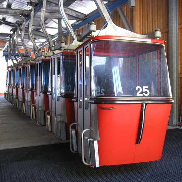 Alte Ochsengartenbahn Kabinen - Upcycling Ochsengartenbahn