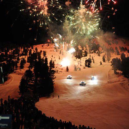 Feuerwerk - Mondzauber Night Ski Show