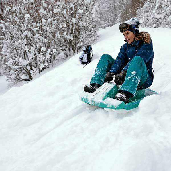 Gastautorin Ludmila - Schneeschuhwandern Vent