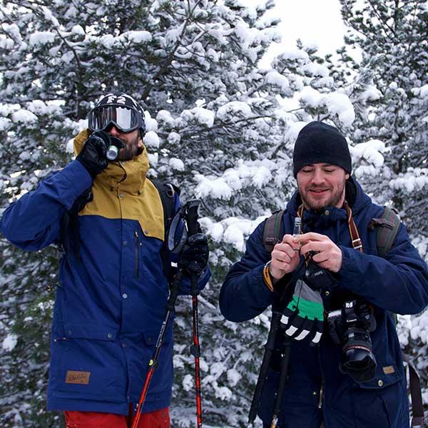 Schnaps am Gipfel - Schneeschuhwandern Vent