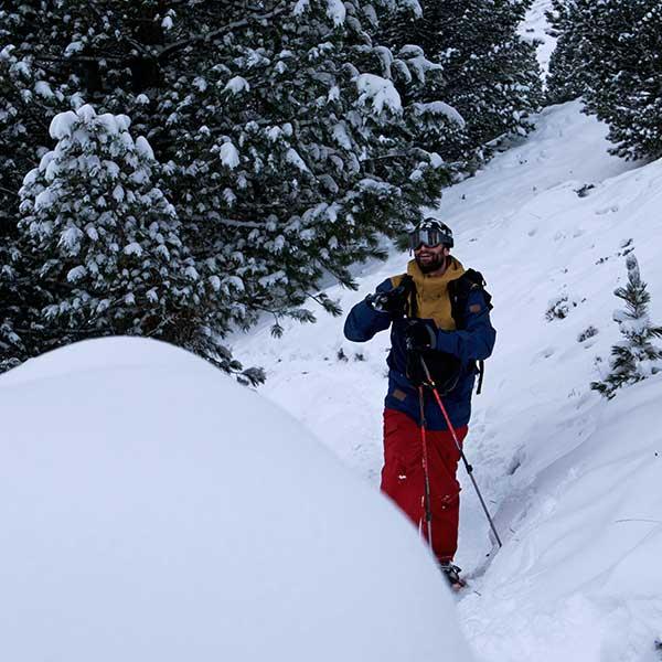 Spaß beim Schneeschuhwandern - Schneeschuhwandern Vent