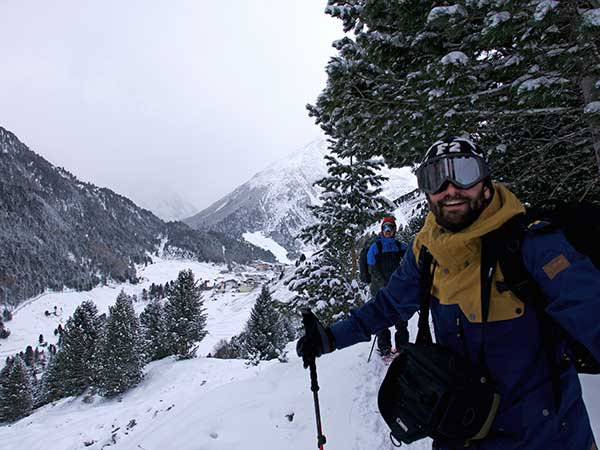 Schneeschuhwandern Vent