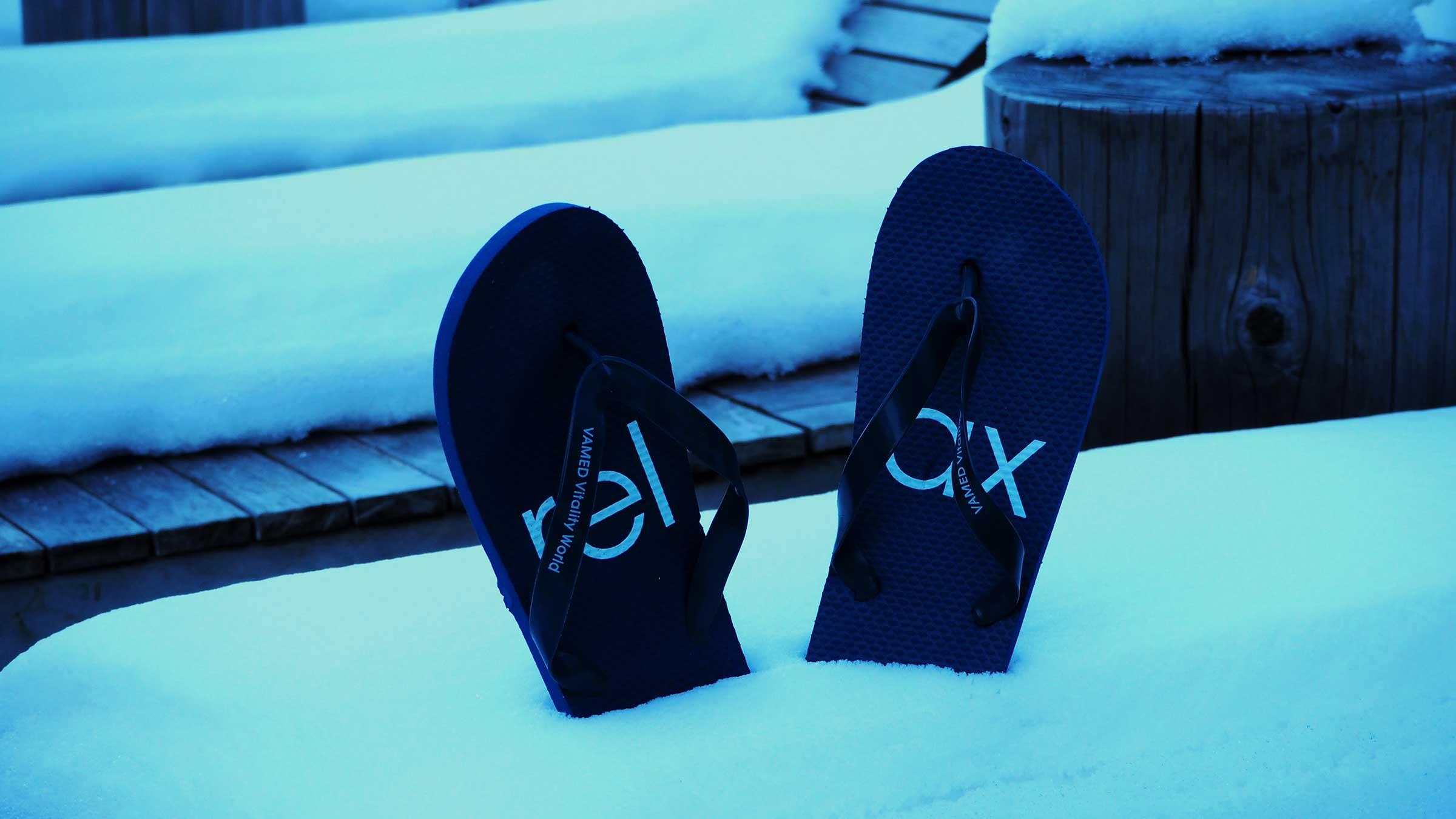 Heiße Relax-Auszeit nach dem Skitag