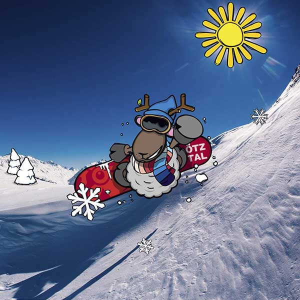WIDI am Snowboard - Skiregion Hochoetz - Kühtai