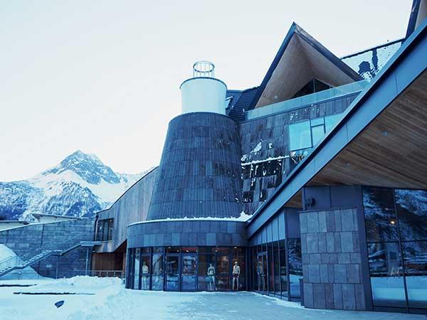 Außenansicht Aqua Dome - Ski und Wellness