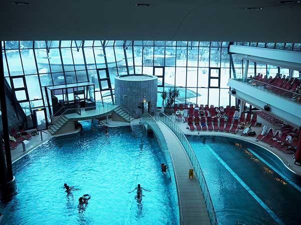 Innenbereich Aqua Dome - Ski und Wellness
