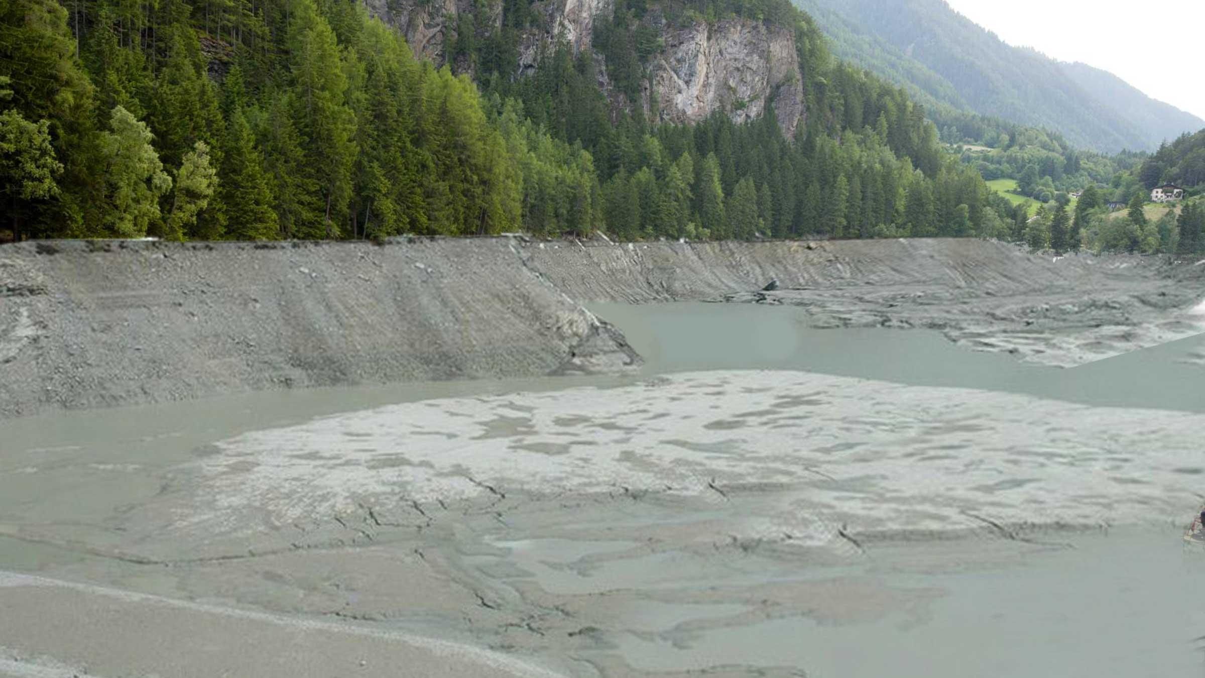 Wasser aus Piburger See abgelassen!