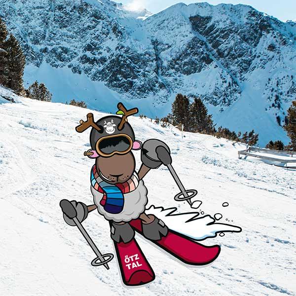 WIDI beim Skifahren - WIDI Hochoetz