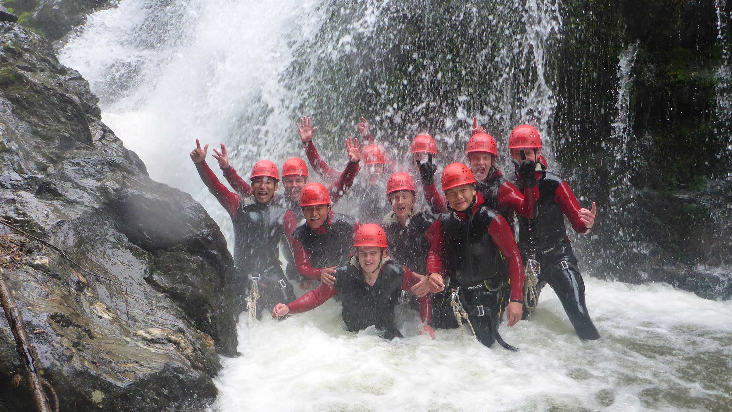Perfectly prepared for the coming Rafting & Canyoning Season