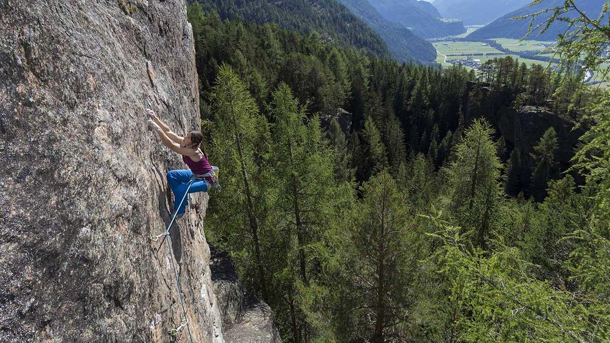 Klettern in Niederthai - Klettern Tirol