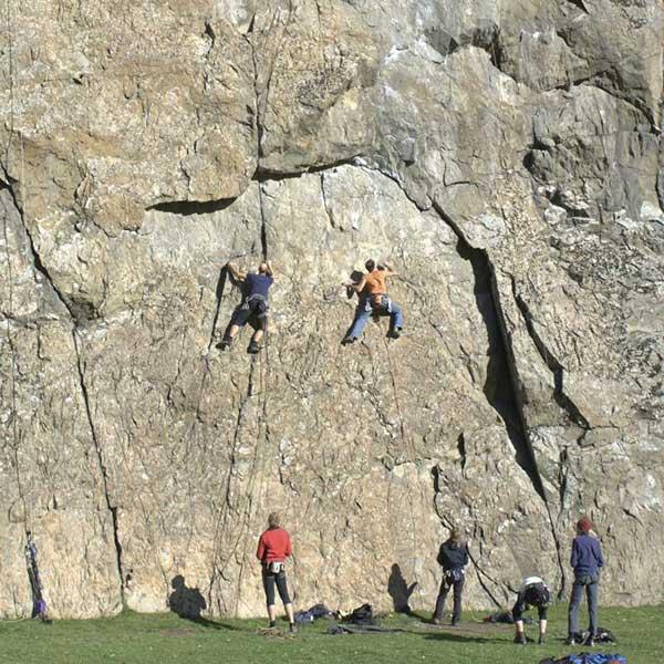 Klettern an der Engelswand in Tumpen - Klettern Tirol