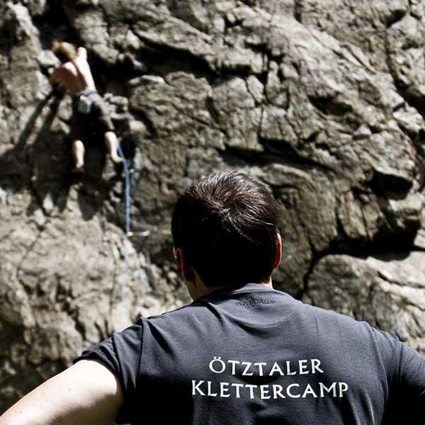 Ötztaler Klettercamp - Klettern Tirol