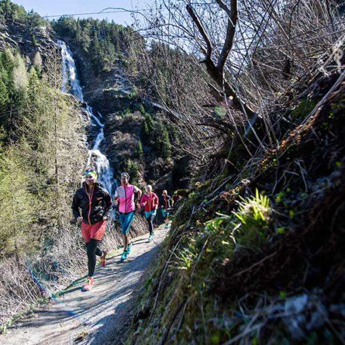 Trailrunning am Stuibenfall - Trailrunning