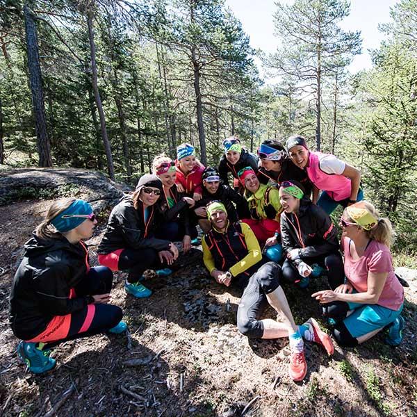 Trailrunning-Gruppe mit Martin Scheiber - Trailrunning