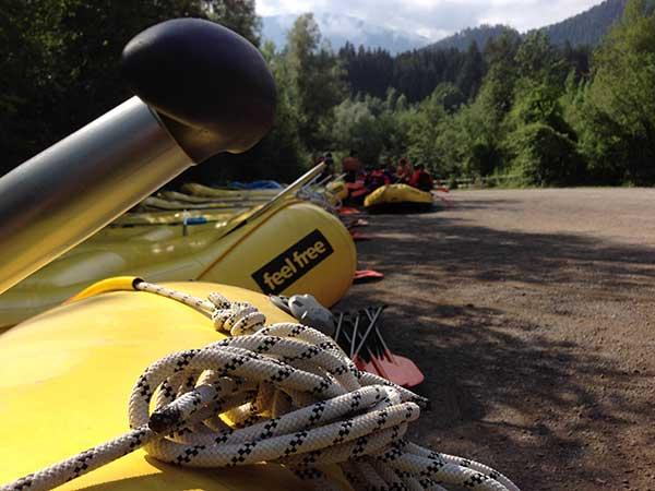 Canyoning und Rafting im Ötztal
