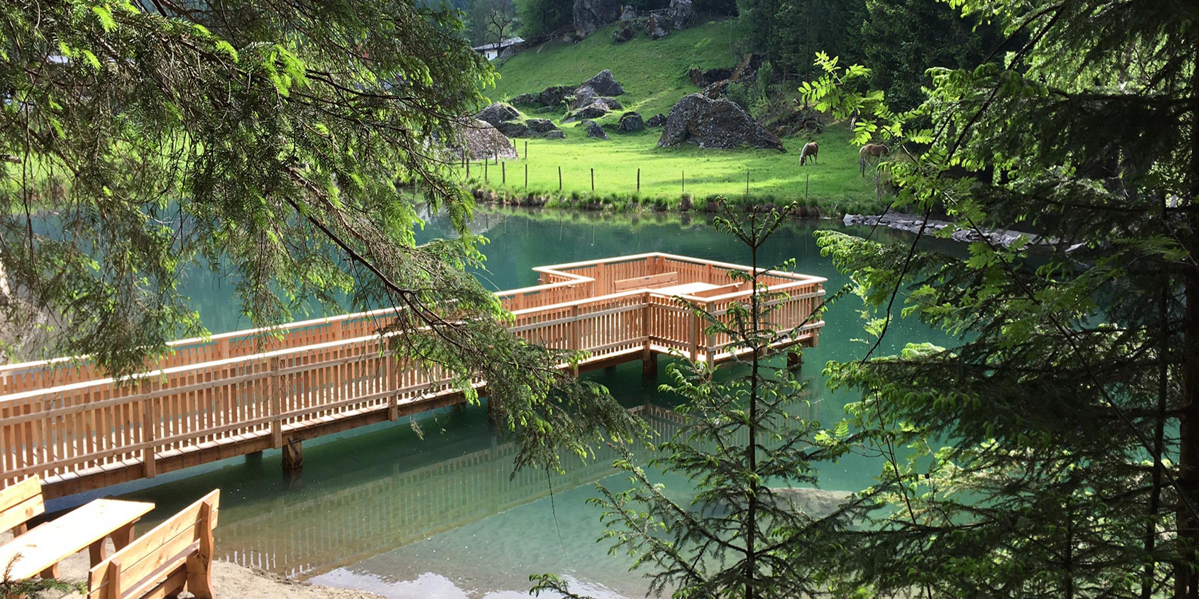 Sommer Habicher See Ötztal