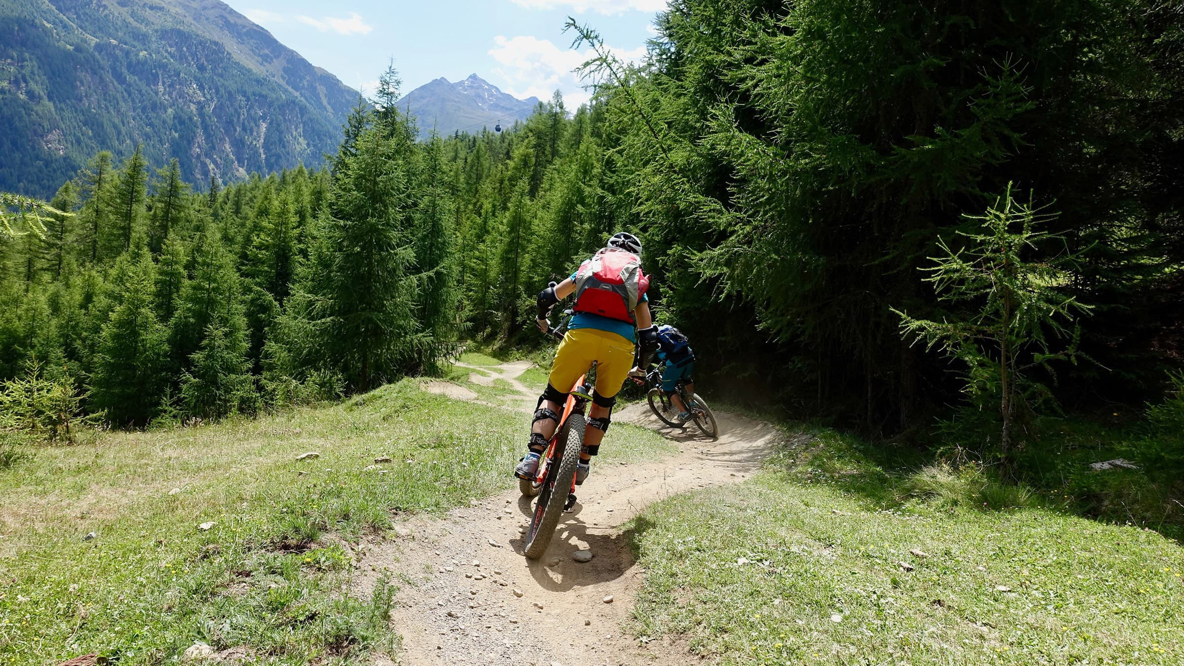 Cycling and mountain biking in the Ötztal