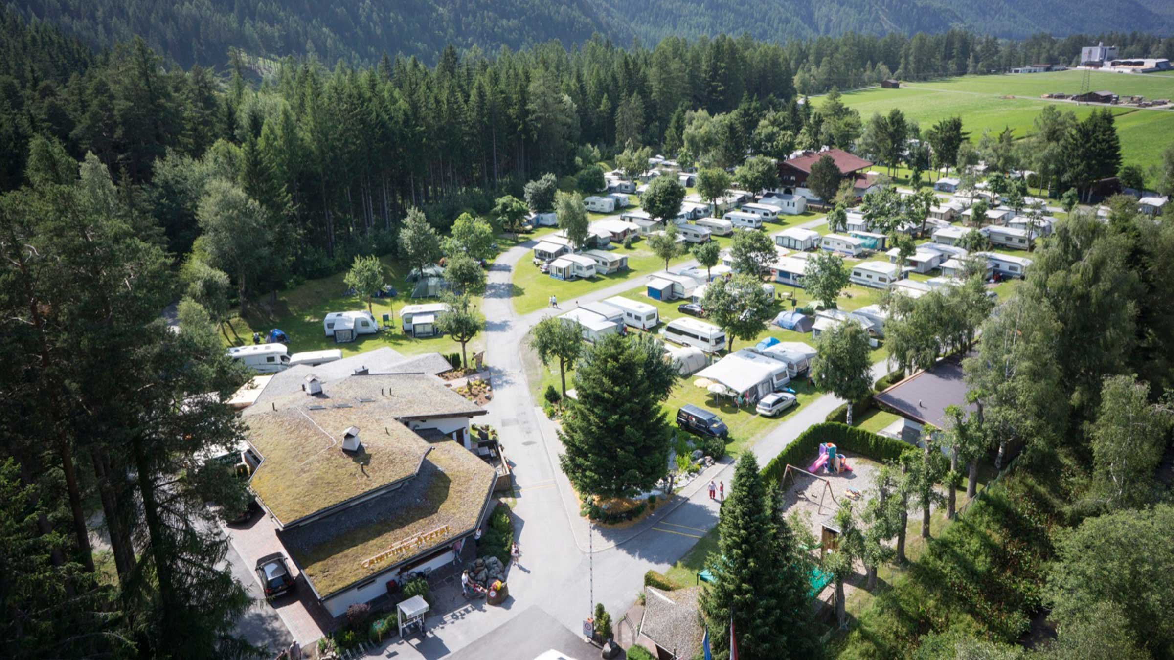Campingplatz Längenfeld - Camping im Ötztal