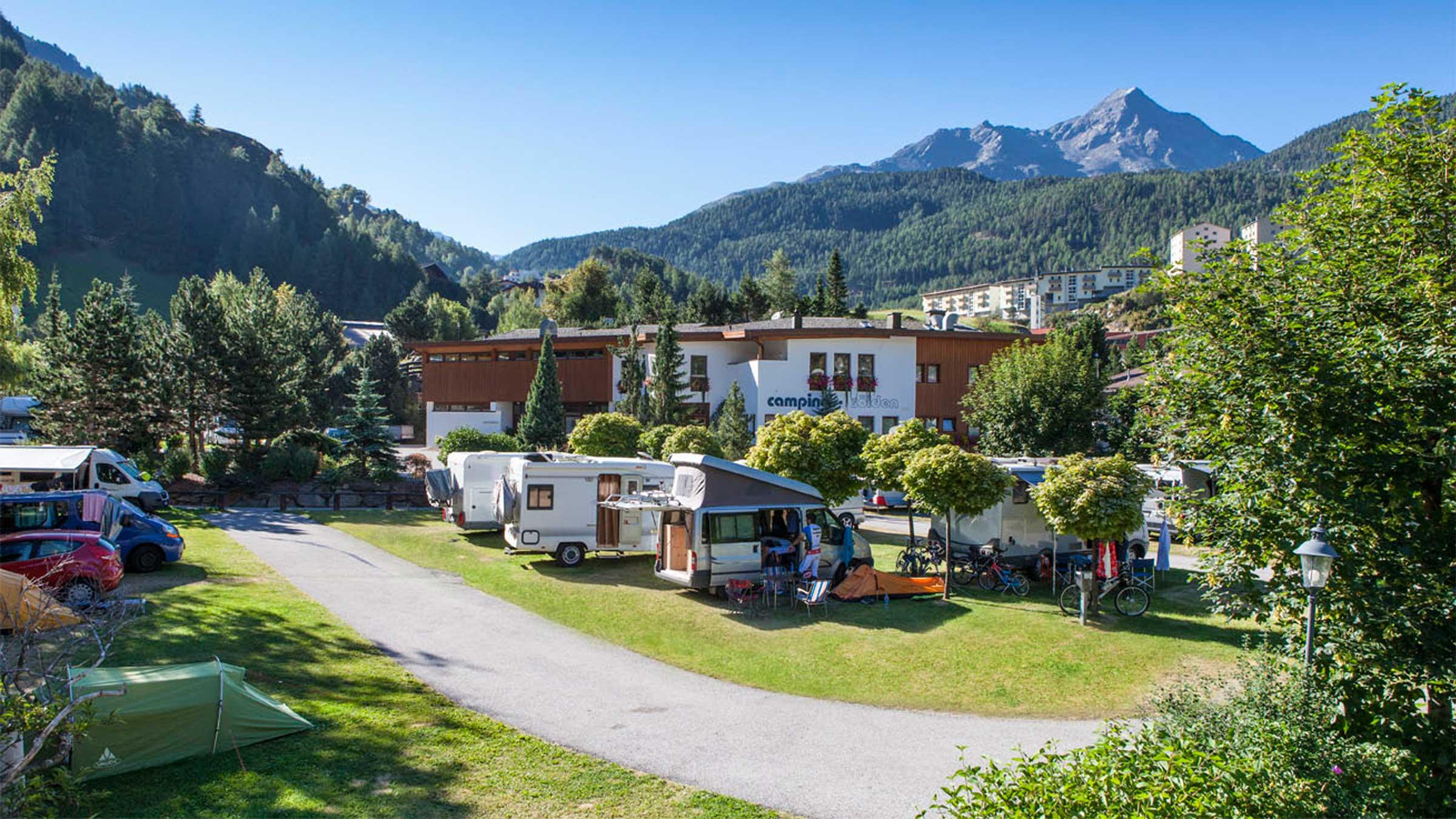 Campingplatz Sölden - Camping im Ötztal