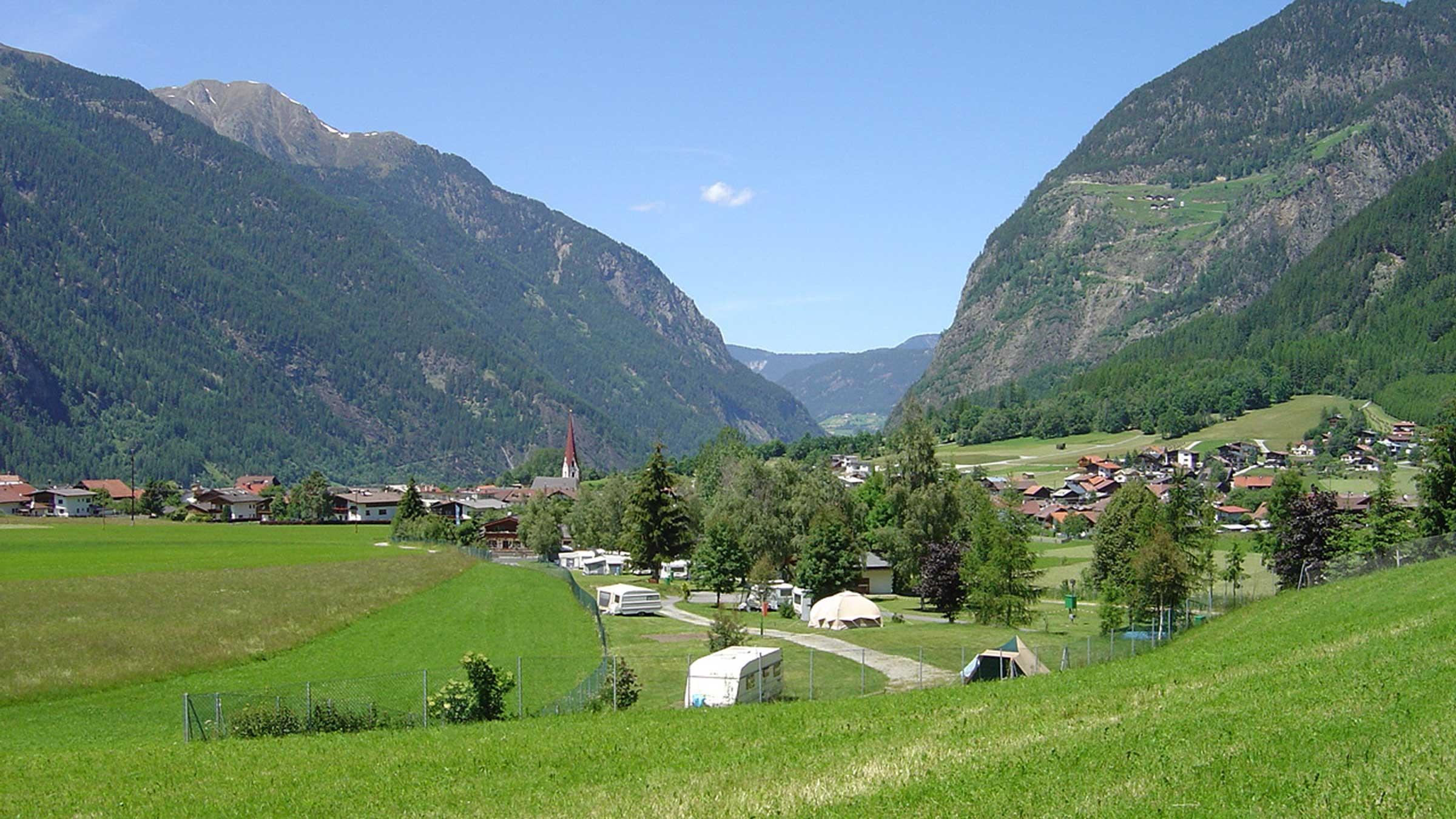 Campingplatz Umhausen - Camping im Ötztal