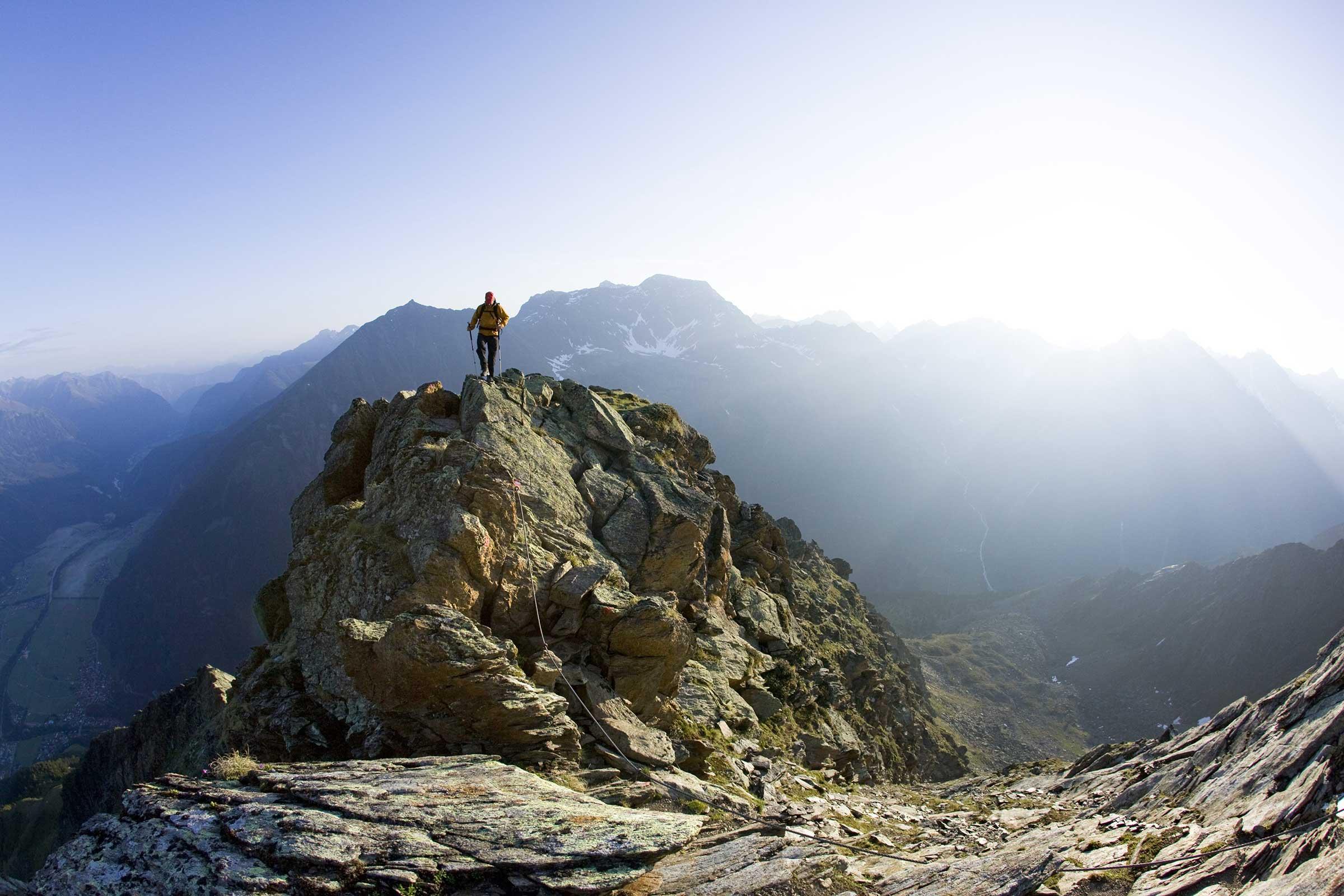 Gamskogel Längenfeld - Aussichtsberge Ötztal