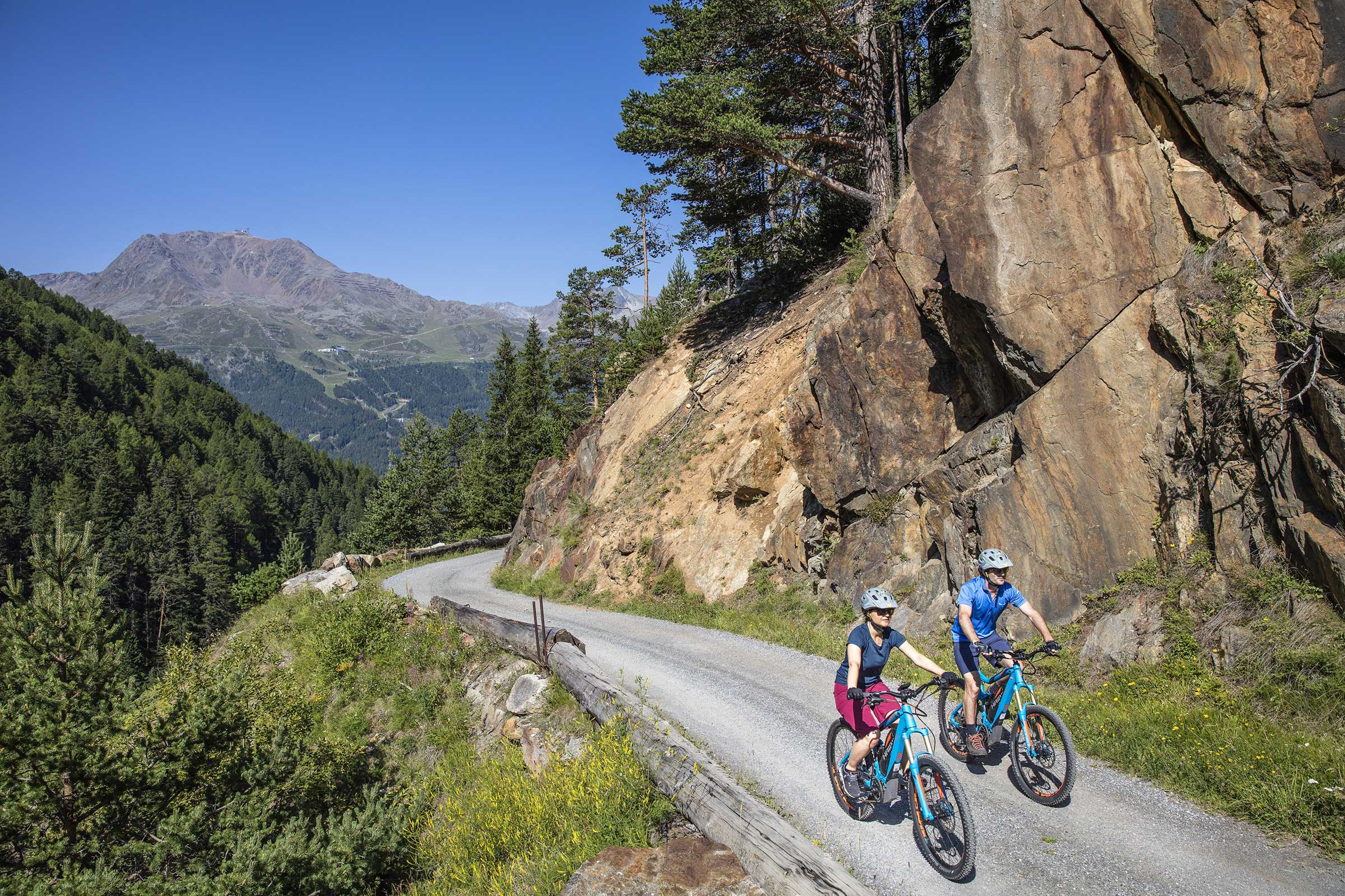 Unterwegs im Windachtal - E-Bike Ötztal