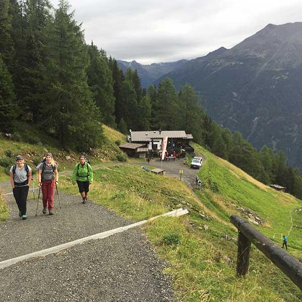 Aufstieg 4-Seen Marsch - 4-Seen Marsch Längenfeld