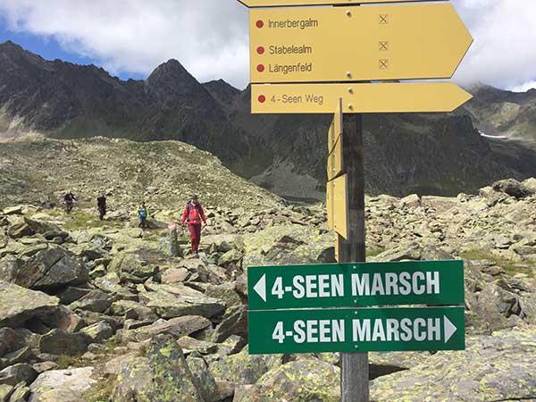 4-Seen Marsch Längenfeld