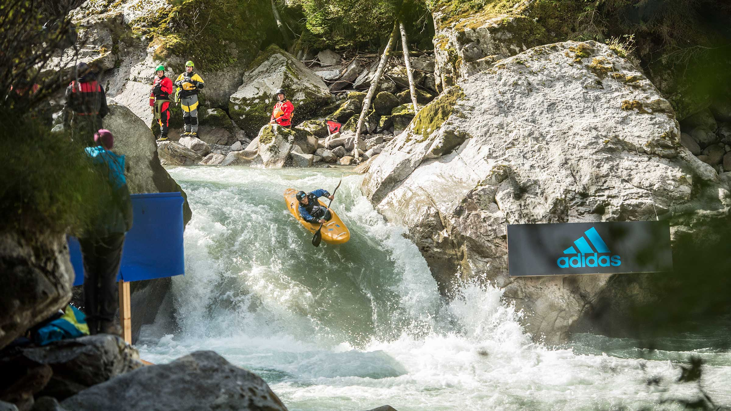 The Eiger North Face of kayak sports: 10 facts on 10 years of adidas Sickline in Ötztal