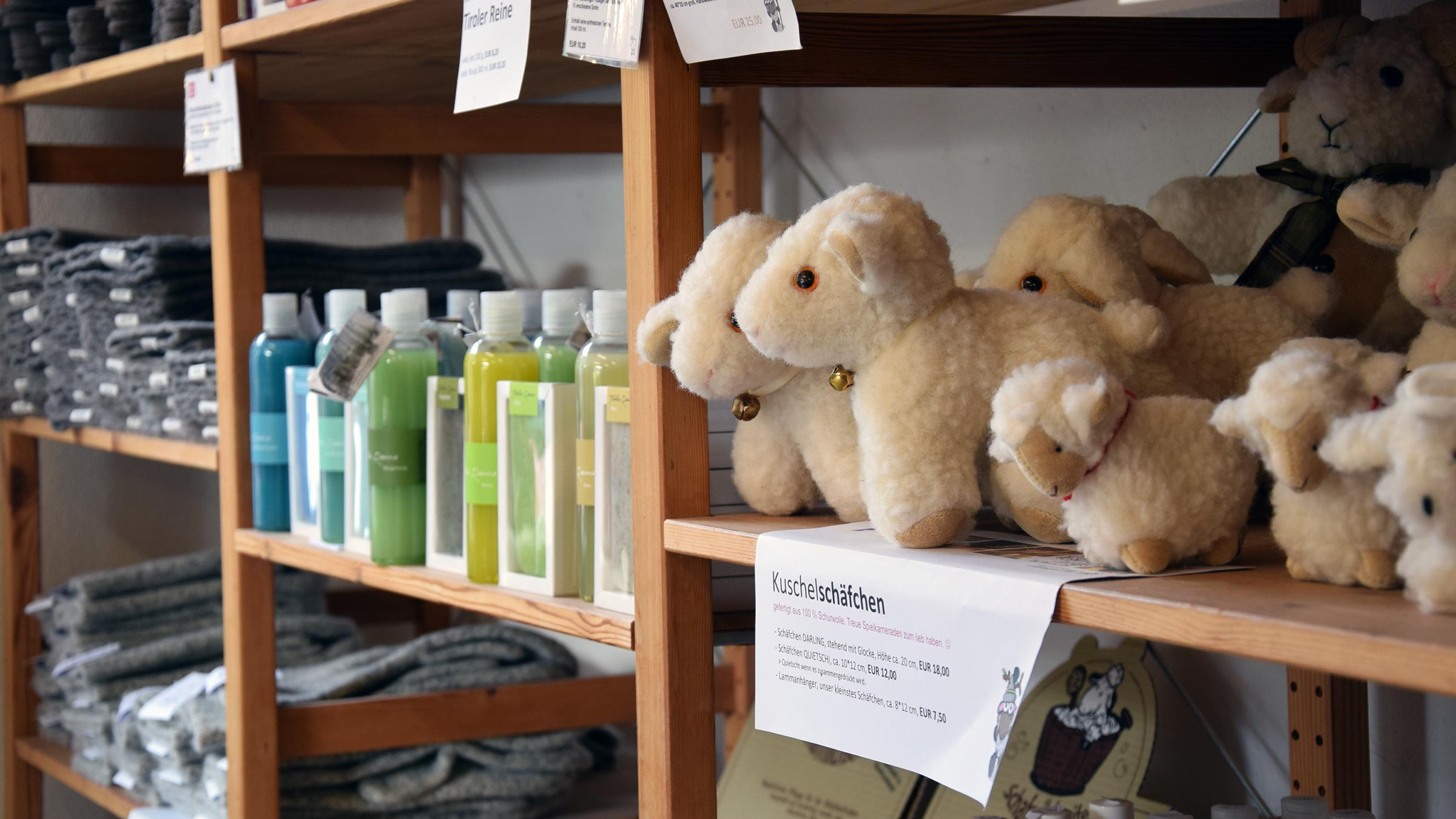 Handwerk mit Tradition: Das Ötztaler Schafwollzentrum