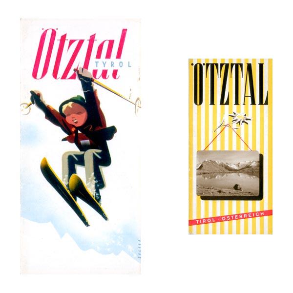 Komposition Alte Werbeplakate 2 - Alte Werbeplakate Ötztal