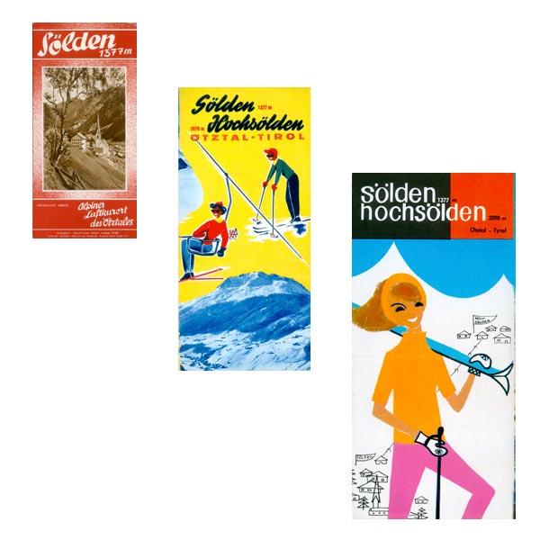 Komposition Alte Werbeplakate 3 - Alte Werbeplakate Ötztal