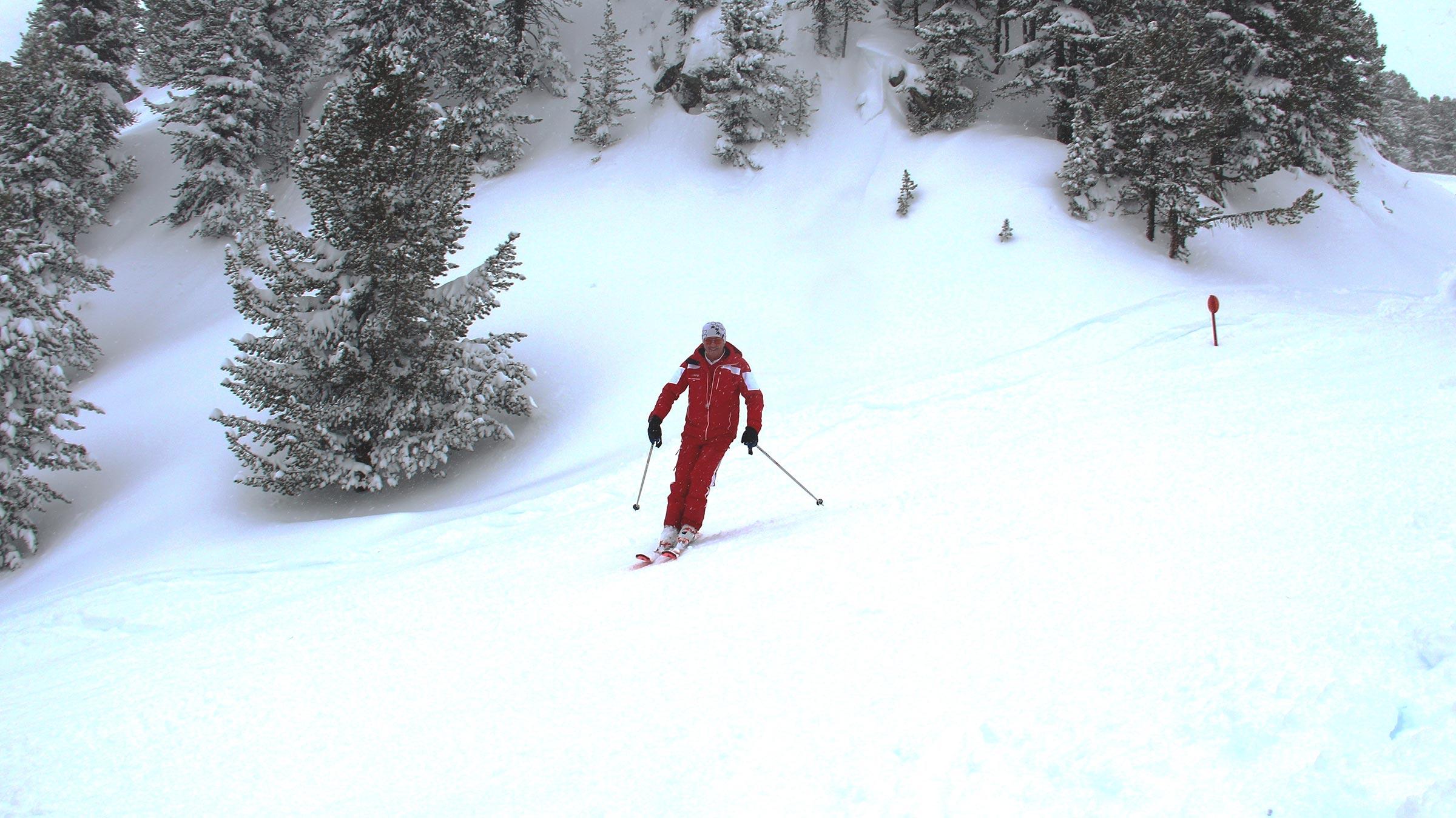 Skischulleiter Kurt Fischer: Der Rote Blitz von Oetz