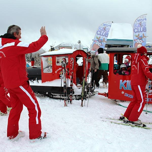 Kurt Fischer verabschiedet Bobo-Express - Skiregion Hochoetz