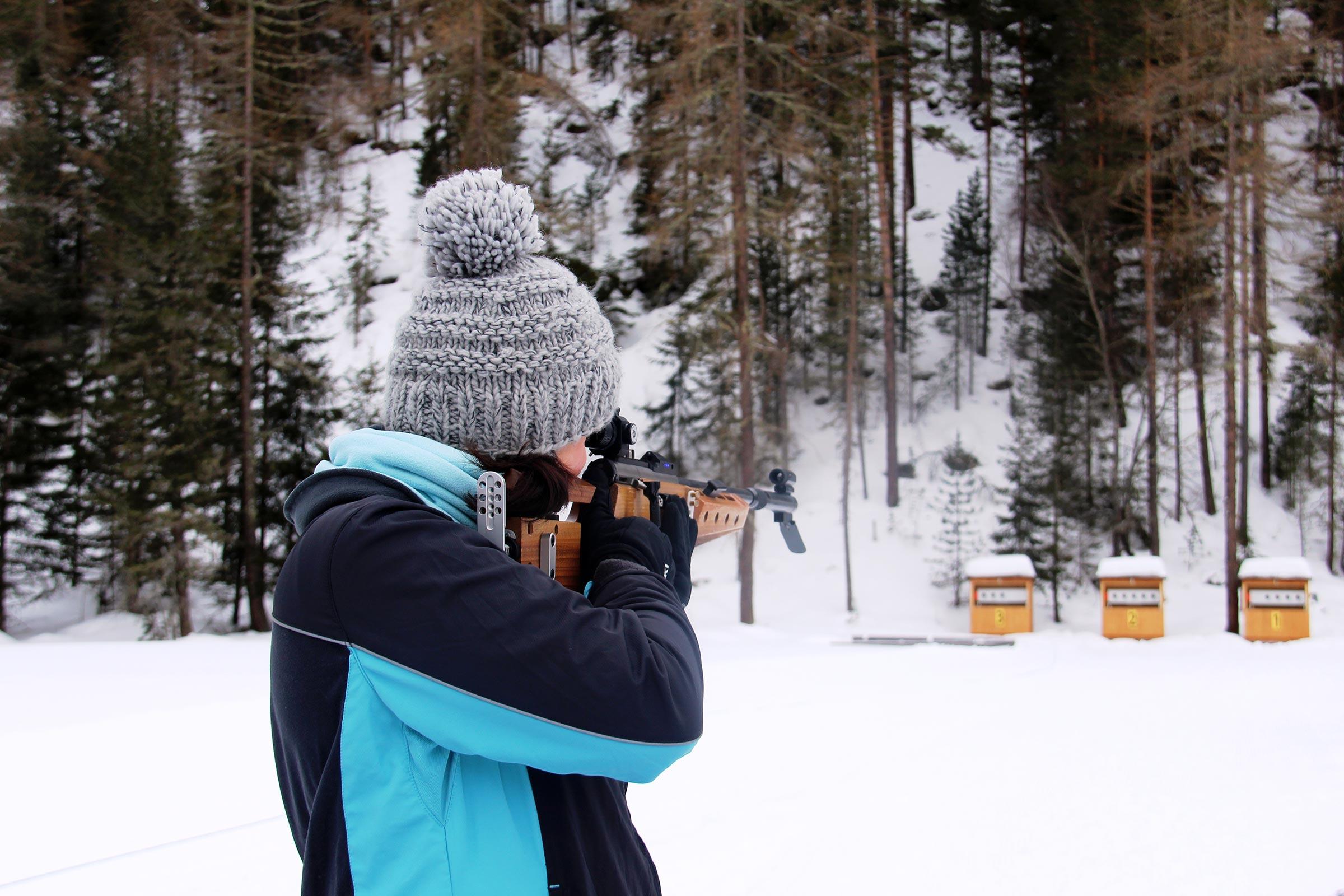 Biathlon in Niederthai - Niederthai Card